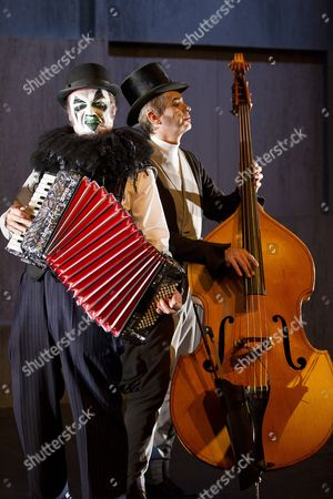 Editorial image of The Tiger Lillies Perform Hamlet, Queen Elizabeth Hall, South Bank centre, London - 18 Sep 2012