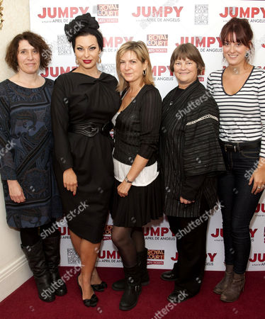 Editorial image of 'Jumpy' play panel discussion, London, Britain - 25 Sep 2012