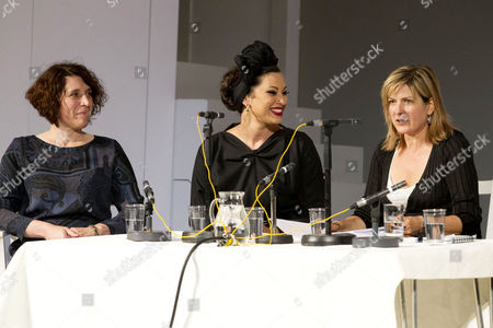 Editorial photo of 'Jumpy' play panel discussion, London, Britain - 25 Sep 2012