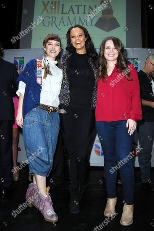 Maria Barracuda, Shaila Durcal and Joy Huerta