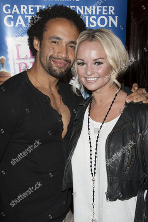 Leon Lopez and Jennifer Ellison (Paulette)