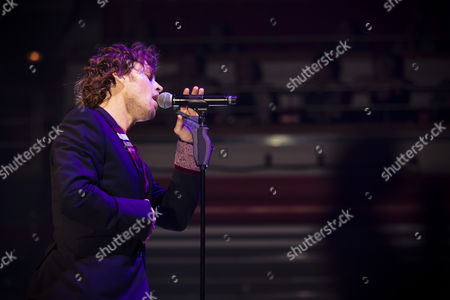 Editorial picture of Darren Hayes in concert at the Symphony Hall, Birmingham, Britain  - 25 Sep 2012