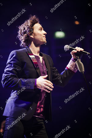 Editorial photo of Darren Hayes in concert at the Symphony Hall, Birmingham, Britain  - 25 Sep 2012