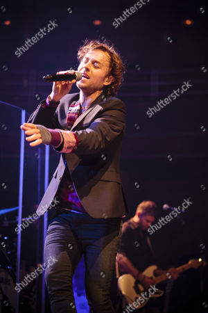 Editorial image of Darren Hayes in concert at the Symphony Hall, Birmingham, Britain  - 25 Sep 2012