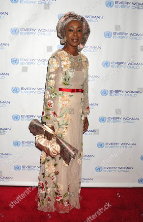 Editorial photo of United Nations 'Every Woman, Every Child' dinner, New York, America - 25 Sep 2012