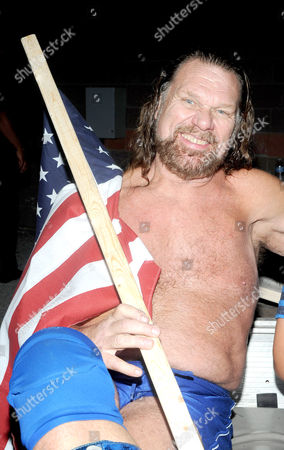 Editorial picture of 'Wrestling Under the Stars' at Dutchess Stadium, New York, America - 22 Sep 2012