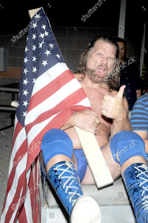 Stock Image of Jim Hacksaw Duggan