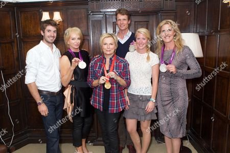 ZacPurchase, Judy Cramer, Jennifer Saunders, William Fox-Pitt, Laura Bechtolsheimer and Tina Cook