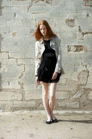 Editorial photo of Street Style, Spring Summer 2013, Paris Fashion Week, France - Sep 2012