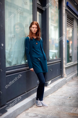 Editorial image of Street Style, Spring Summer 2013, Paris Fashion Week, France - Sep 2012