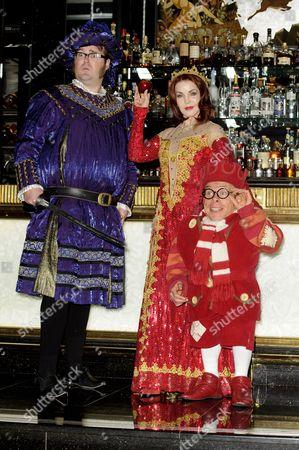 Jarred Christmas, Priscilla Presley and Warwick Davis