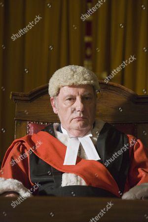 Paul Darrow as Judge Prentice.