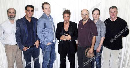 Daniel Sullivan, Bobby Cannavale, Murphy Guyer, Al Pacino, Richard Schiff, Jeremy Shamos and John C. McGinley