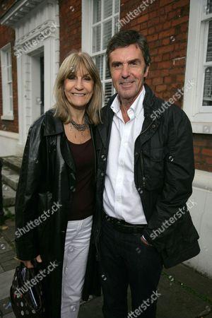 Lynn Faulds Wood and John Stapleton