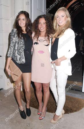 Sophia Sassoon, Tara Smith and Kimberley Garner