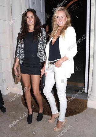 Sophia Sassoon and Kimberley Garner