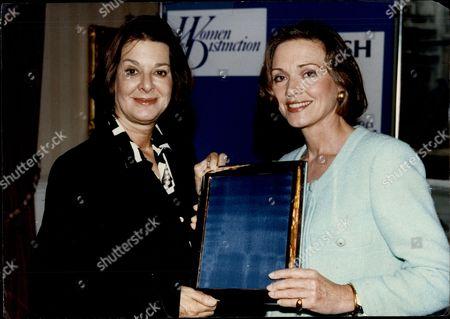 Newsreader Anna Ford And Tv Producer Verity Lambert.