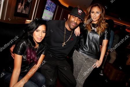 Julissa Bermudez, DJ Clue and Adrienne Bailon