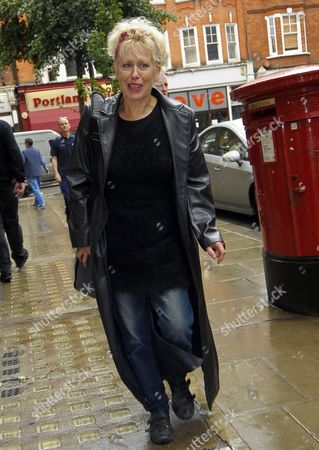 Editorial picture of Corinne Drewery and Hazel O'Connor out and about in London, Britain - 26 Sep 2012