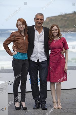 Stock Image of Katie Coseni, Laurent Cantet, Madeleine Bisson