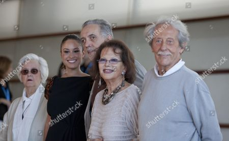 Editorial image of 'El artista y la modelo' film photocall, 60th San Sebastian Film Festival, San Sebastian, Spain - 24 Sep 2012
