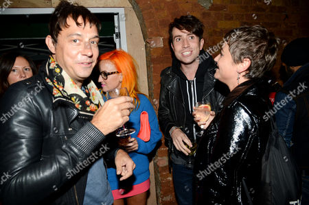 Jamie Hince, Aimee Phillips, Nick Grimshaw and Jaime Winstone