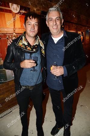 Jamie Hince and Rifat Ozbek