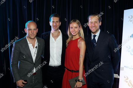 Carlo Carello, Marlon Abela, Nadya Abela and Jake Parkinson-Smith
