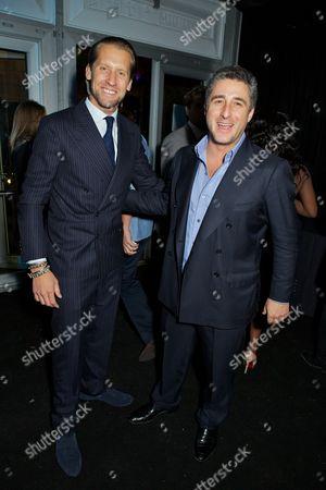 Jake Parkinson-Smith and Luca del Bono
