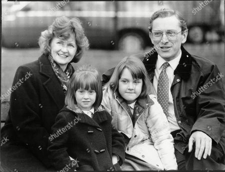 Sir Norman Fowler Baron Fowler Of Sutton Coldfield With Is Wife Fiona And Daughters Isobel And Kate.