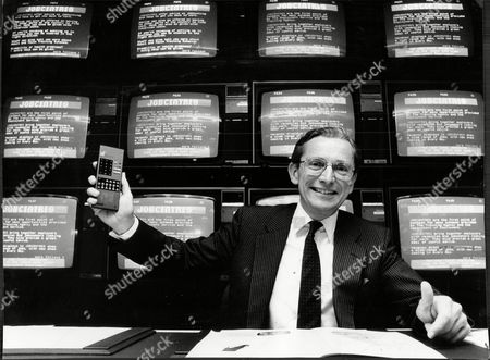 Editorial picture of Norman Fowler Baron Fowler Of Sutton Coldfield At The Launch Of The Jobcentre.