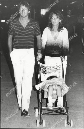 Editorial picture of Former Footballer And Football Manager Trevor Francis With Wife Helen Francis And Son Matthew Francis In Spain Trevor John Francis (born 19 April 1954 In Plymouth England) Is A Former Footballer Who Won The European Cup With Nottingham Forest And Pla