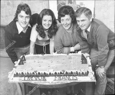 Former Footballer And Football Manager Trevor Francis (l) With Wife Helen Francis And Mum & Dad Roy And Phyllis With Wembley Cake Trevor John Francis (born 19 April 1954 In Plymouth England) Is A Former Footballer Who Won The European Cup With Nottingham Forest And Played For England 52 Times. He Was England's First A1 Million Player. Former England Manager Fabio Capello Considered Francis The Best English Player Ever To Have Played In Serie A.[citation Needed] Between 1988 And 2003 He Was A Football Manager Most Notably With Sheffield Wednesday And Then Birmingham City. Francis Is Currently Working As A Pundit With Al Jazeera Sports And Sky Sports.