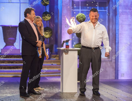 Stock Picture of Alan Titchmarsh with Abbi Collins and Andy Collins