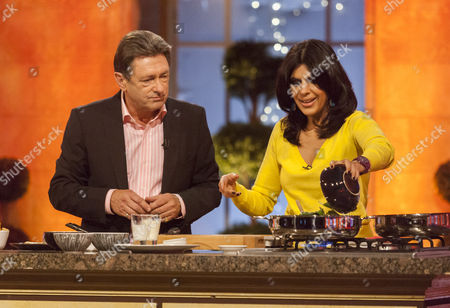 Alan Titchmarsh and Anjum Anand