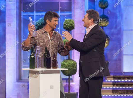 Gary Connery and Alan Titchmarsh