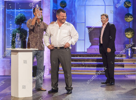 Stock Picture of Gary Connery, Andy Collins and Alan Titchmarsh