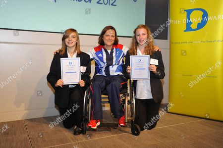 Paralympics Sitting Volleyball star Martine Wright and award winners