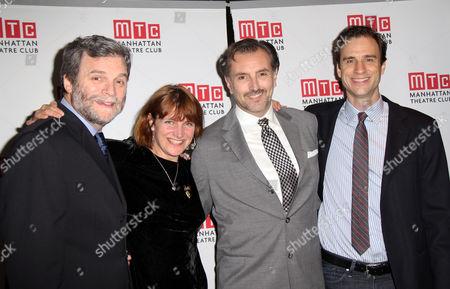 John Procaccino, Playwright Rebecca Lenkiewicz, Randall Newsome, James Waterston