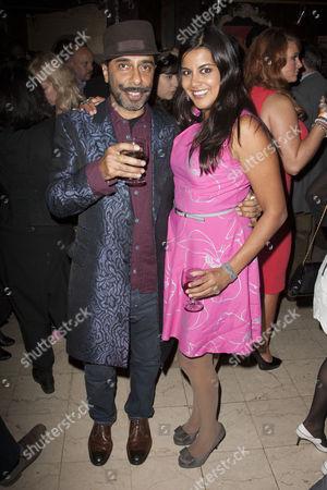 Shiv Grewal (Don Pedro) and Pooja Shah