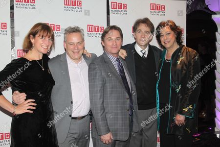 Rebecca Lenkiewicz, Doug Hughes, Richard Thomas, Boyd Gaines and Lynne Meadow