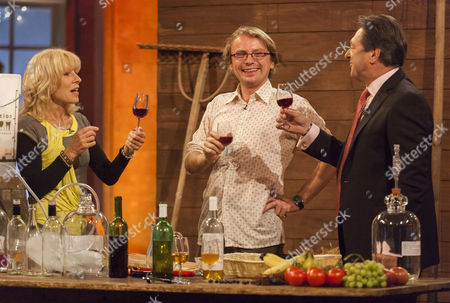 Jilly Goolden, Andy Hamilton and Alan Titchmarsh