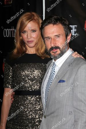 Kristen Dalton and David Arquette