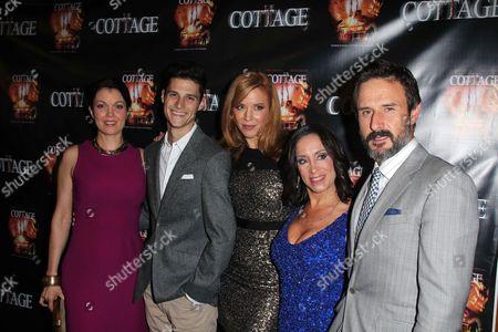 Bellamy Young, Ken Baumann, Kristen Dalton, Bettina Tendler and David Arquette