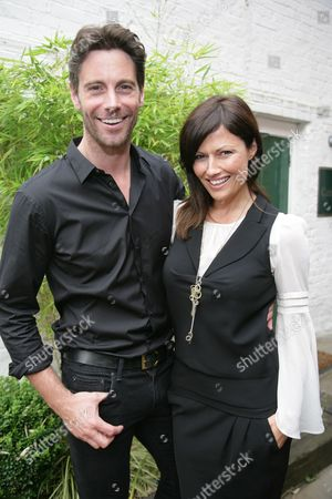 Stock Image of Captain David Blakeley and his partner Julie Lowery