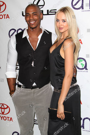 Stock Picture of Mehcad Brooks and Amalie Wichmann