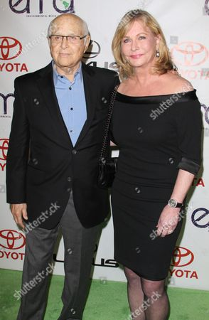 Norman Lear and wife Lyn Davis