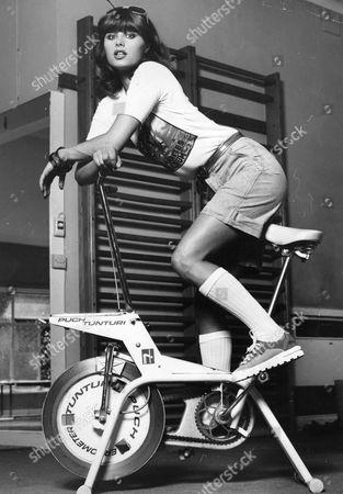 Stock Image of Uschi Obermaier Model Girlfriend Of Mick Jagger.