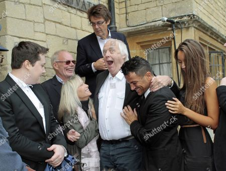 Mike Reid, Robin-John Gibb, Bob Harris, Susan George, Tim Rice and Peter Andre