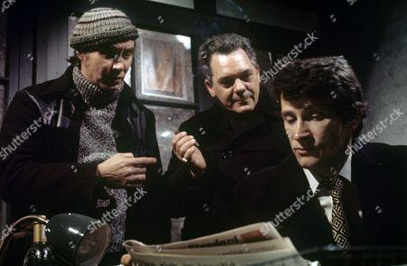 Stock Photo of Colin Edwynn, Arthur White and William Wilde